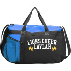 Cheer duffle bag