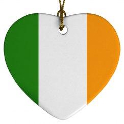 Irish flag, Ornament