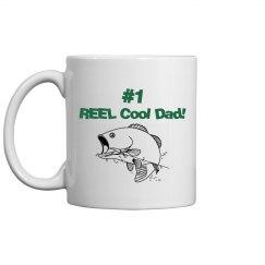 REEL Cool Dad mug - green