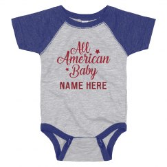 All American Baby Custom 4th of July