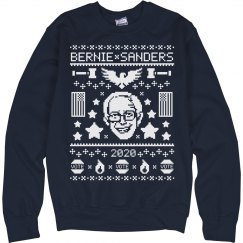 Bernie Sanders Tacky Christmas Sweater