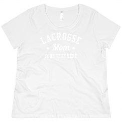 Custom Lacrosse Mom Plus Pullover