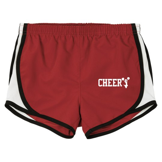 Any Size Cheerleader Shorts Cheer Team Gift Cheer Shorts Any Color Image Cheer Team Shorts Cheerleader Gift Any Name Personalized Kids Cheer Shorts