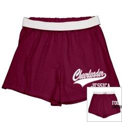 Cheer Shorts w/ Name
