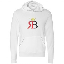Red Bottoms White Hoody-Crown Logo