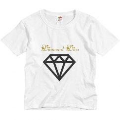 Youth Diamond Divas Tshirt