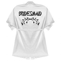 White Bridesmaid Robe
