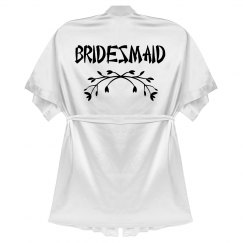 White Bridesmaid Robe