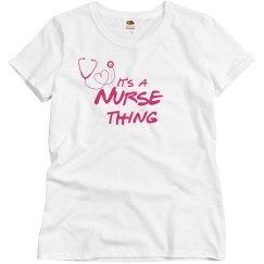 It's a nurse thing