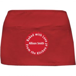 Baked with Love Aprons