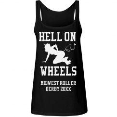 Hell On Wheels Derby Doll