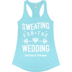 Sweating Wedding Tank