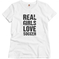 Real girls love soccer