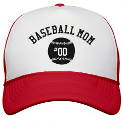 Baseball Mom Snap Back Hat