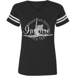 Inspire Dance Team Adult Baseball T