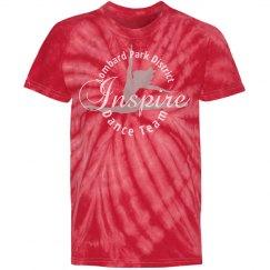 Inspire Dance Team Youth Tie Dye