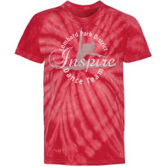 Inspire Dance Team Youth Tie Dye