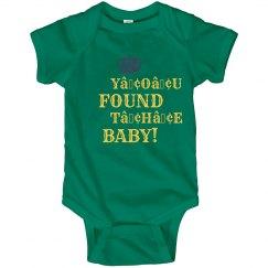 Mardi Gras Baby Found!