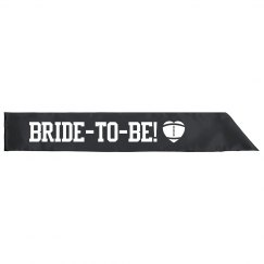 Sports Bachelorette Sash