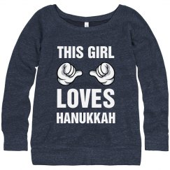 This Girl Loves Hanukkah!