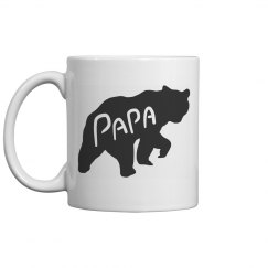 Father's Day Papa Bear Mug