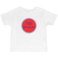 Big Brother Shirt Red Navy