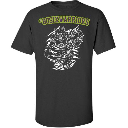 80sixwarriors fan apparel