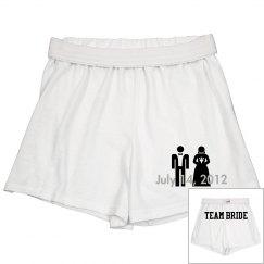 Bridal Shorts