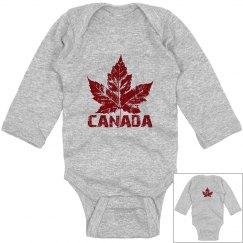 Cool Canada Baby Souvenir Bodysuit