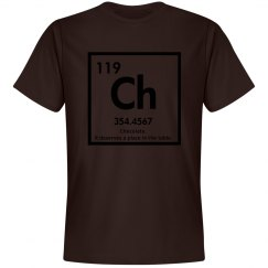 Chocolate elements-men's tee