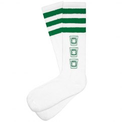 Design St Patricks Socks