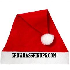 GROWNASSPINUPS.COM SANTA CLAUSS HAT
