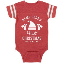 Baby's First Custom Christmas