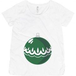 Green Maternity Ornament