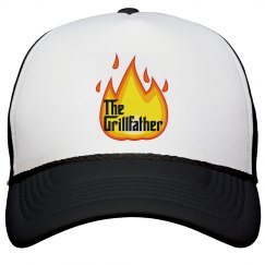 The Grillfather fire emoji hat