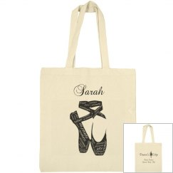 Dancer's Edge Canvas Tote