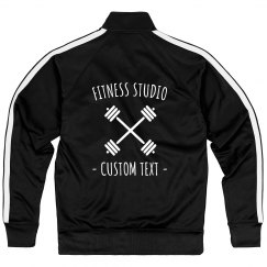 Custom Fitness Studio Gym Zip Jacket