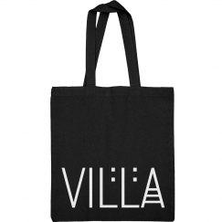 Villa Title Logo Black Tote
