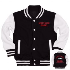 Asher's Racing Channel Youth letter jacket