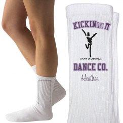 Crew dance socks