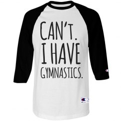 Funny Gymnastics Shirt