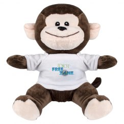 IFZ Small Monkey Stuffed Animal