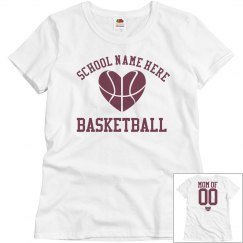 Budget Priced Custom Basketball Mom Shirt