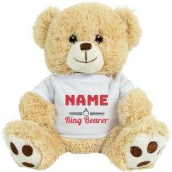 Custom Name Ring Bear