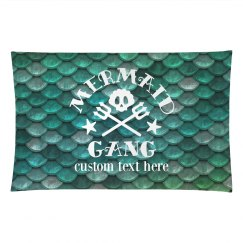 Mermaid Gang All Over Print Pillow