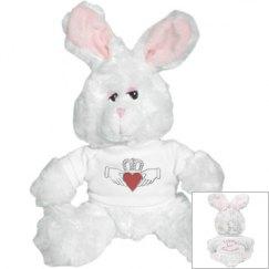 Irish Claddagh Bunny