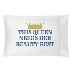Queen's Beauty Rest Blue