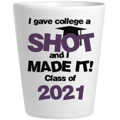 Grad Gave College a Shot