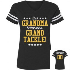 Football Grandma Tackle