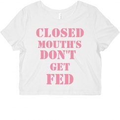 Closed Mouths